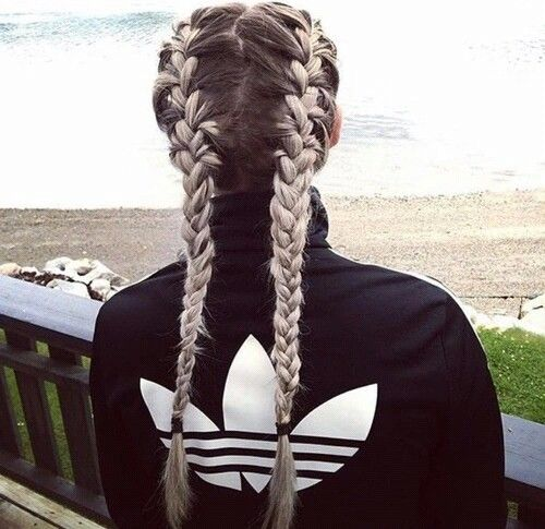 Two French braids ♚♔ Ғσℓℓσω ғσя мσяɛ ɢяɛαт ριиƨ Ғσℓℓσω ...