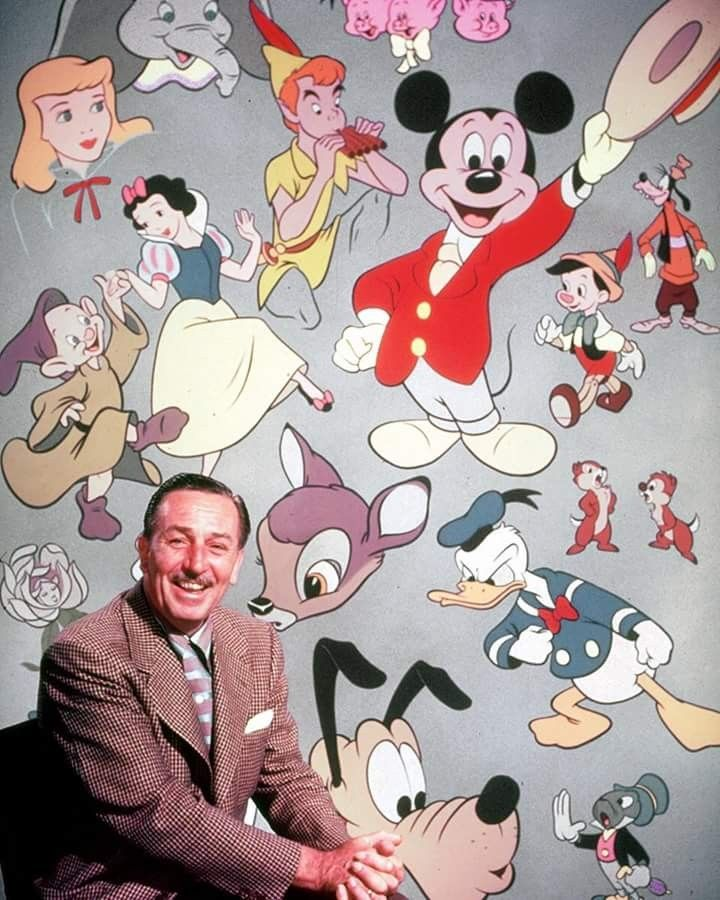 Pioneer Of The Animation Industry Walt Disney Was Born 116 Years Ago Today On Dec 5 1901 In Chicago Illinois He Formed The Disney Brothers Studio With His