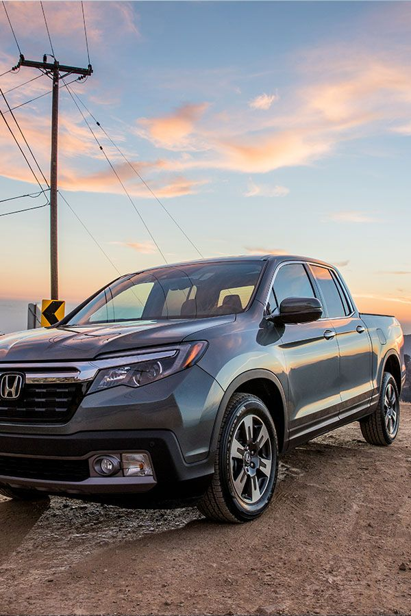 The 2017 Honda Ridgeline Is Where The Rubber Meets The Dirt With An Available I Vtm4 Awd System For Any Weather Condition Honda Ridgeline Honda New Trucks