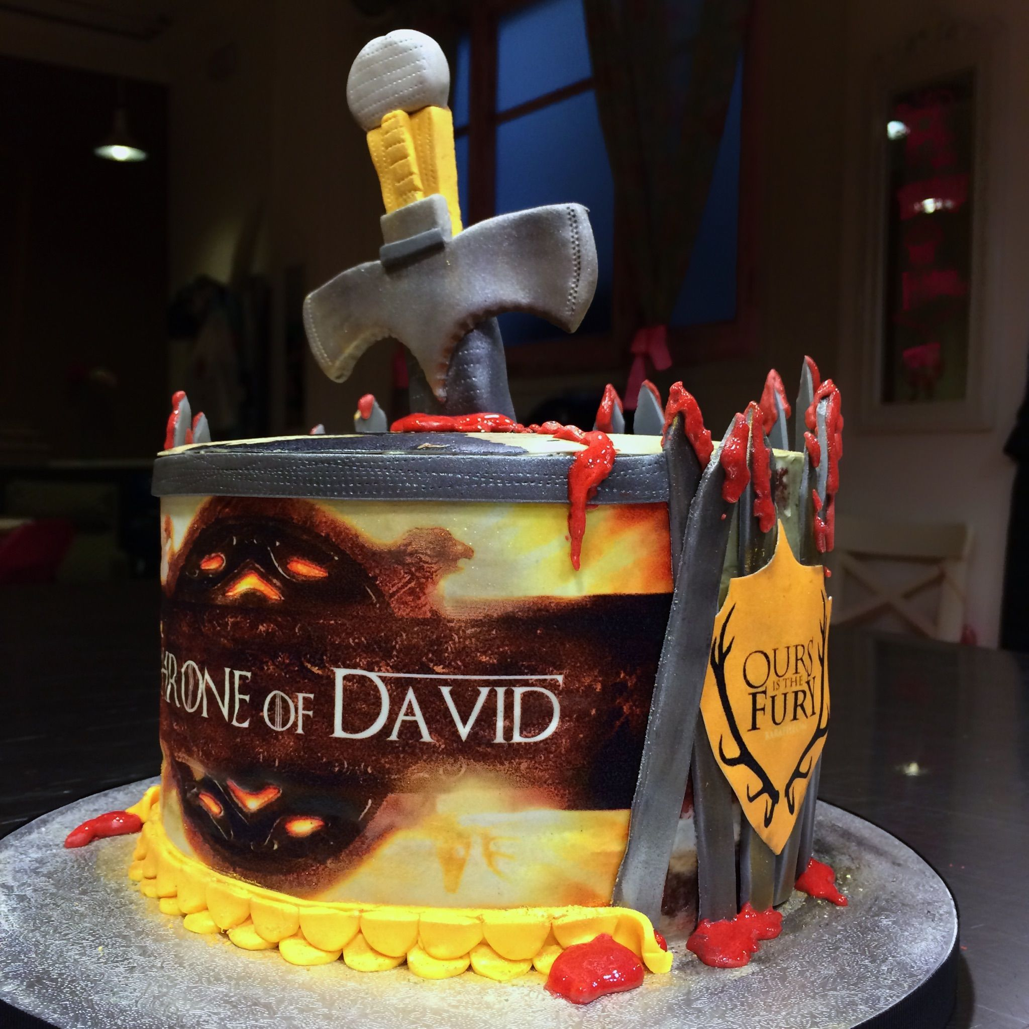 Tarta Juego De Tronos Game Of Thrones Cake By Kemagdalenas Cake Desserts Birthday
