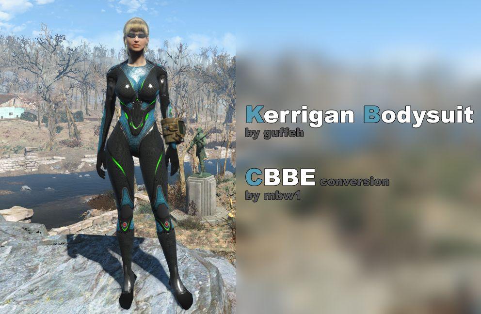 Kerrigan Bodysuit (by guffeh) CBBE conversion at Fallout 4