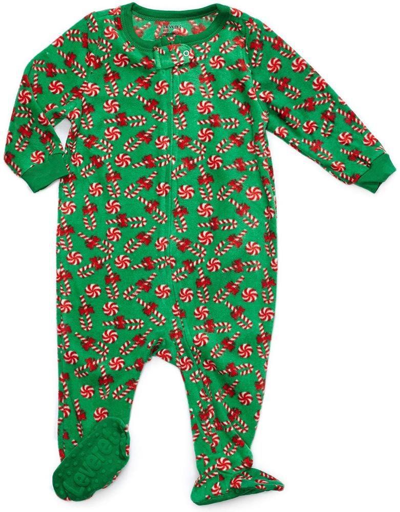927f1fde6125 Leveret Fleece Baby Boys Girls Footed Pajamas Sleeper Kids Toddler ...