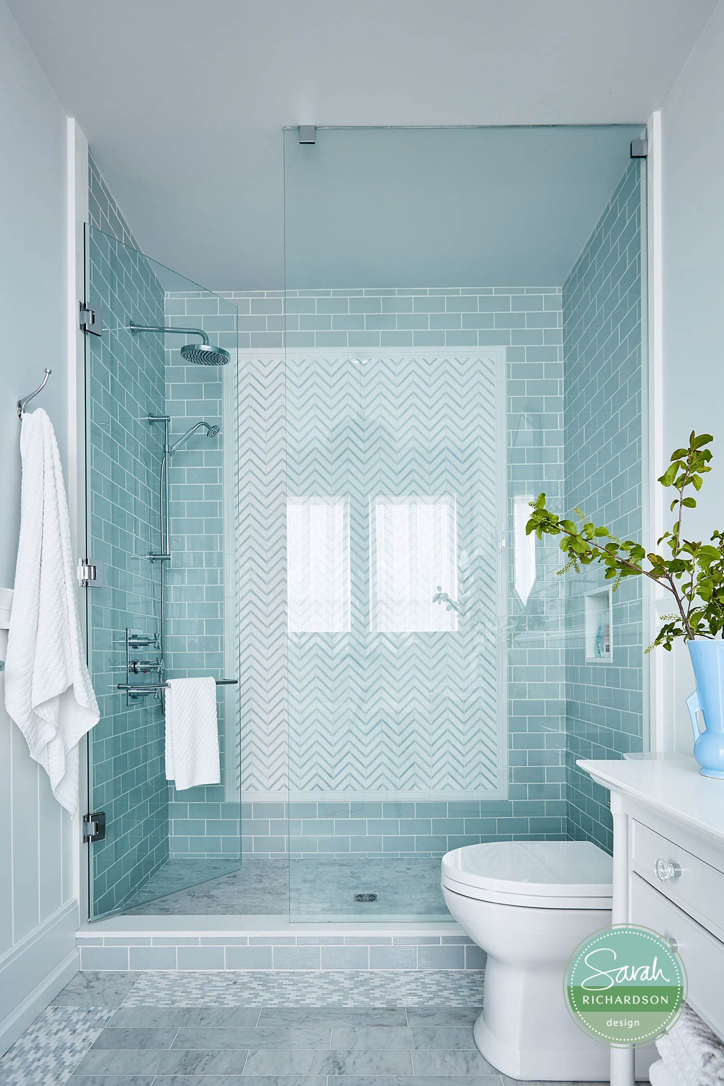 Robin S Bathroom As Seen On Hgtv Canada S Sarah Off The Grid By Sarah Richardson Design Bathroom Tile Designs Simple Bathroom Designs Bathroom Remodel Master