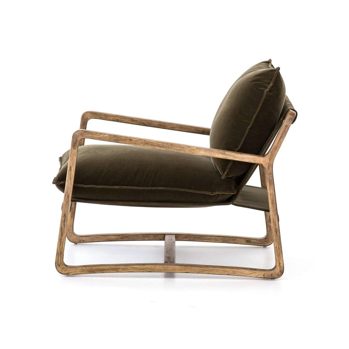 Ace chair in olive green in 2020 olive armchair green