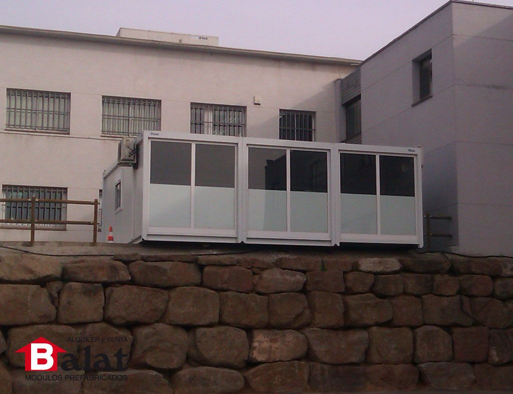 Arquitectura modular oficina prefabricada lluca del val for Construccion modular prefabricada
