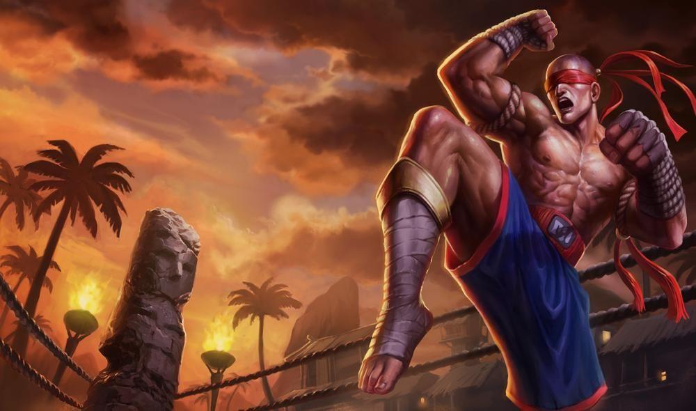 Lee Sin Skinstrivia Lol Champions League Of Legends Muay Thai