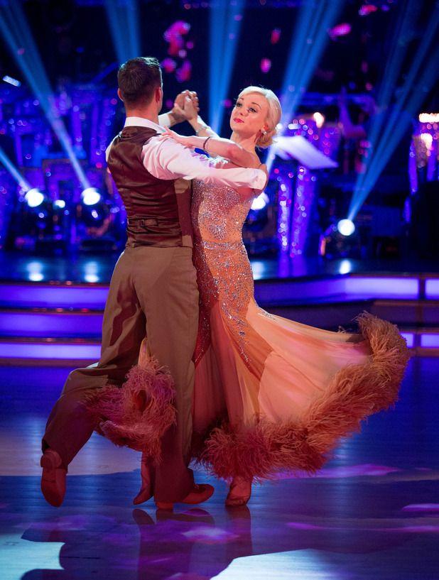 Strictly Come Dancings Helen Georges ballroom dancing