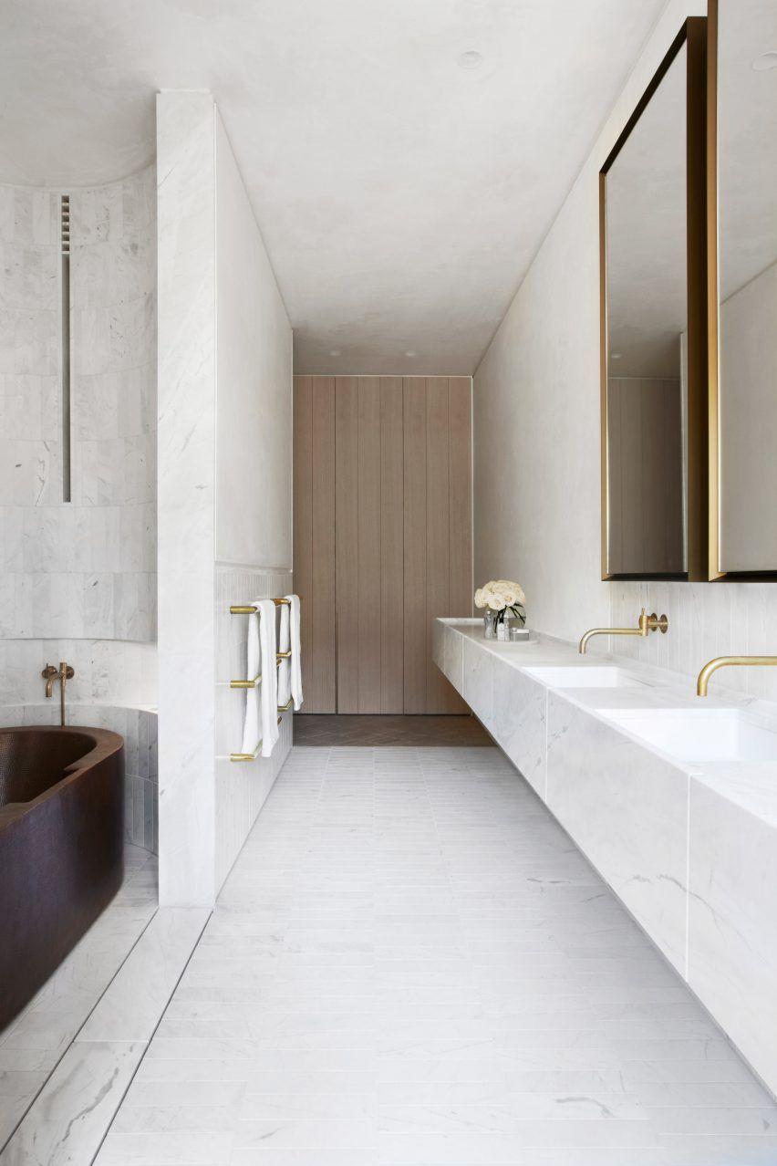 Innenfarben für die halle sculptural facade directs daylight into smart design studious house