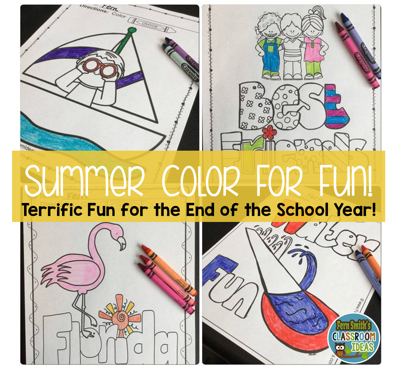 Summer Coloring Pages Students Teaching Ideas And Teacher