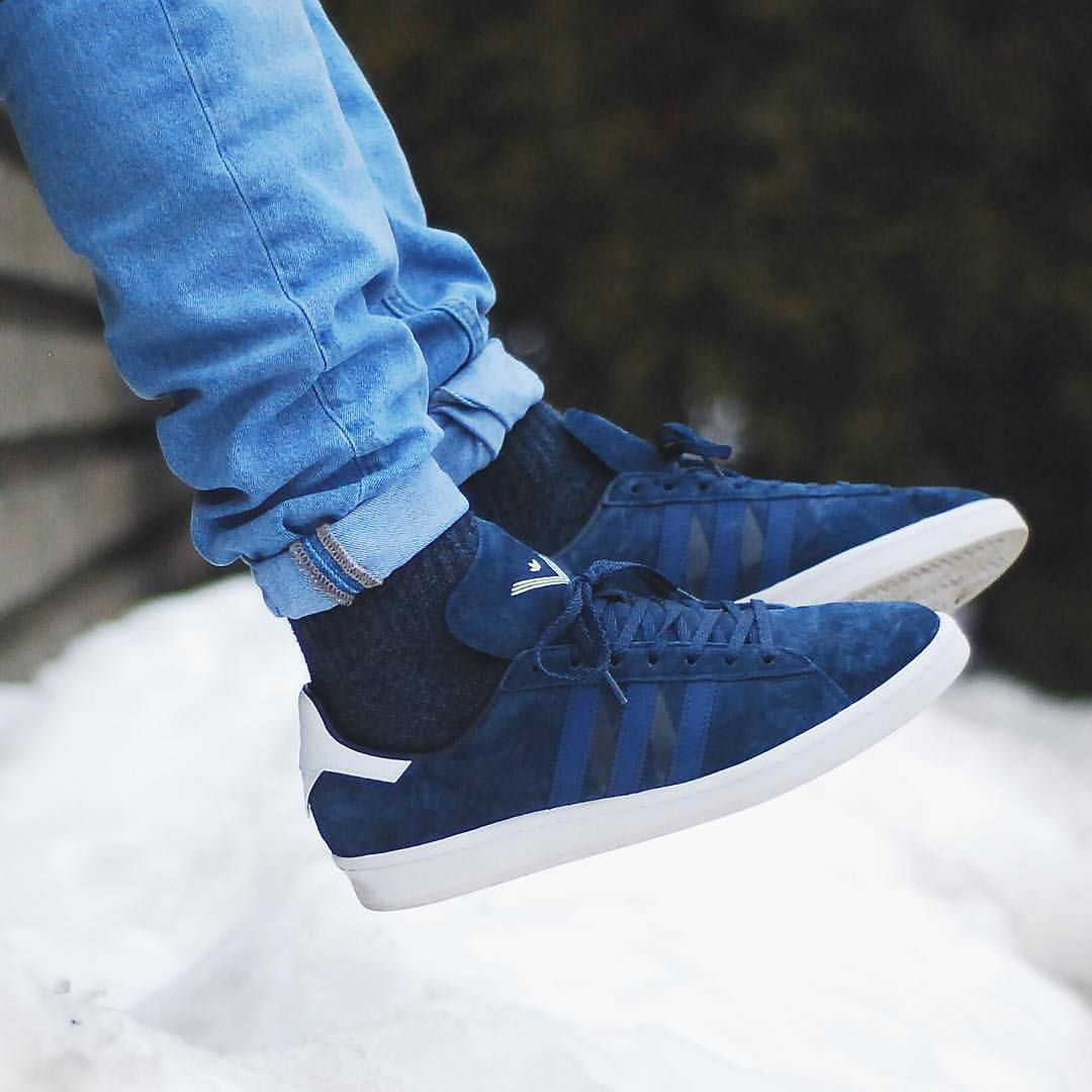 hot sale online 036ef 4cc2e White Mountaineering x adidas Originals Campus 80s