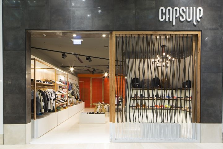 Capsule Store By Prospace Design Studios Melbourne