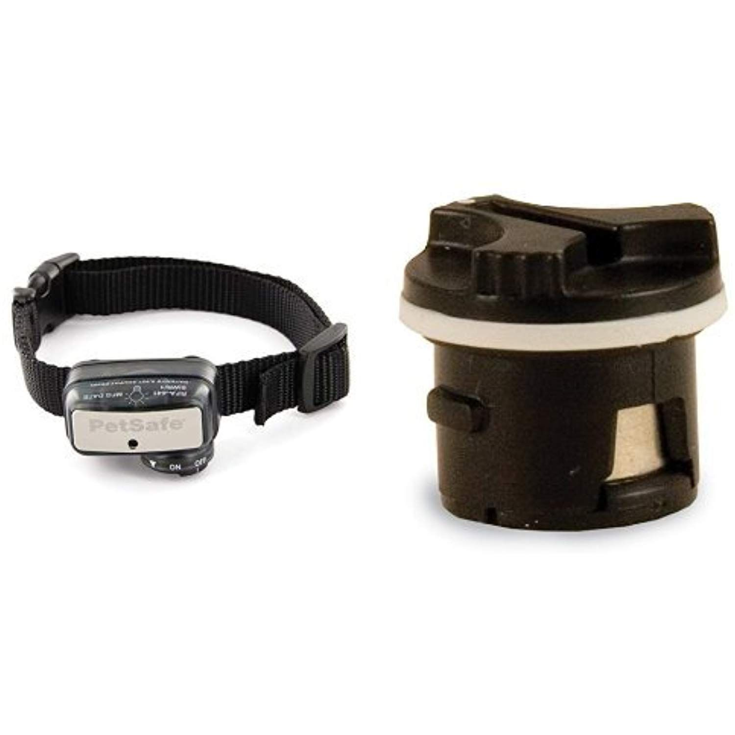 Deluxe Little Dog Bark Collar And Replacement Battery Bundle
