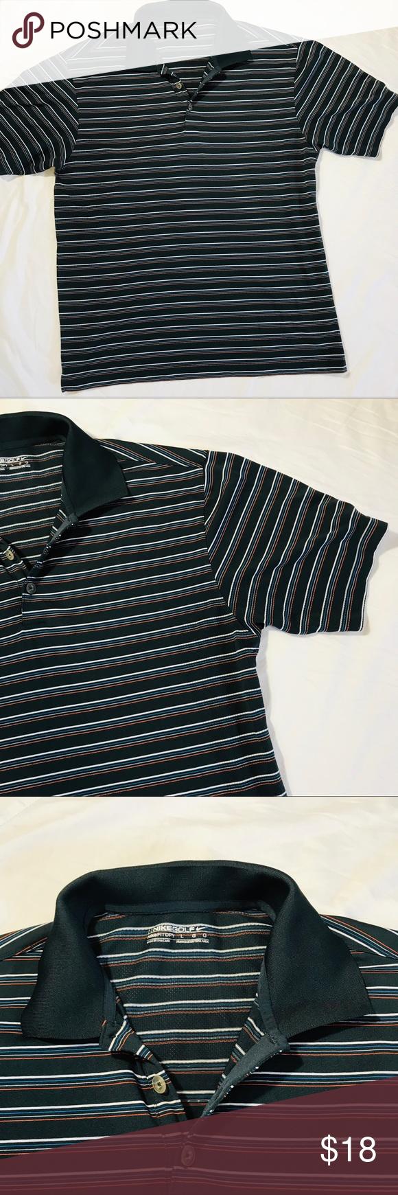 a4a3ceff Men's Nike Golf Polo Striped golf polo. Performance material. No ...