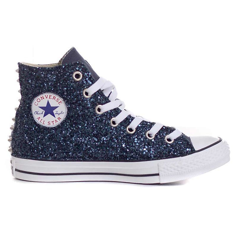 all star converse donna alte glitter