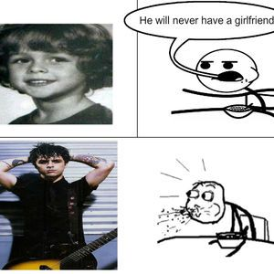 Green Day frontman Billie Joe Armstrong. You were saying...?