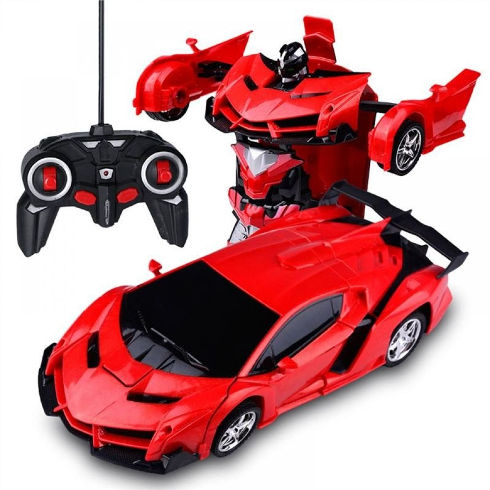 Remote Control Toy Car Transform Car Robot Remote Control Vehicle Red Red Remote Control Cars Toys Toy Car Remote Control Toys