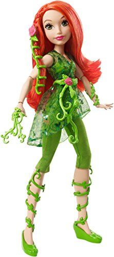 "Mattel DC Super Hero Girls Poison Ivy 12/"" Action Doll"