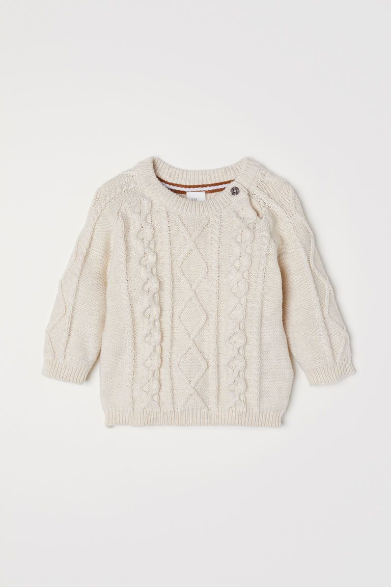 8ea16ac37 Cable-knit Sweater | Baby Joseph | Cable knit sweaters, Cable knit ...