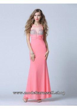 Elegante kleider altrosa