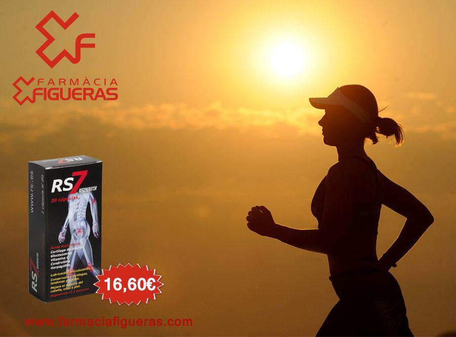 Ampliar RS7 REGENERATOR 30 CAPSULAS Actúa en las articulaciones como lubricante para los cartílagos y los ligamientos, así como protege de ejercicios físicos. http://goo.gl/AZ0wEk #deporte #entreno #run #complementos