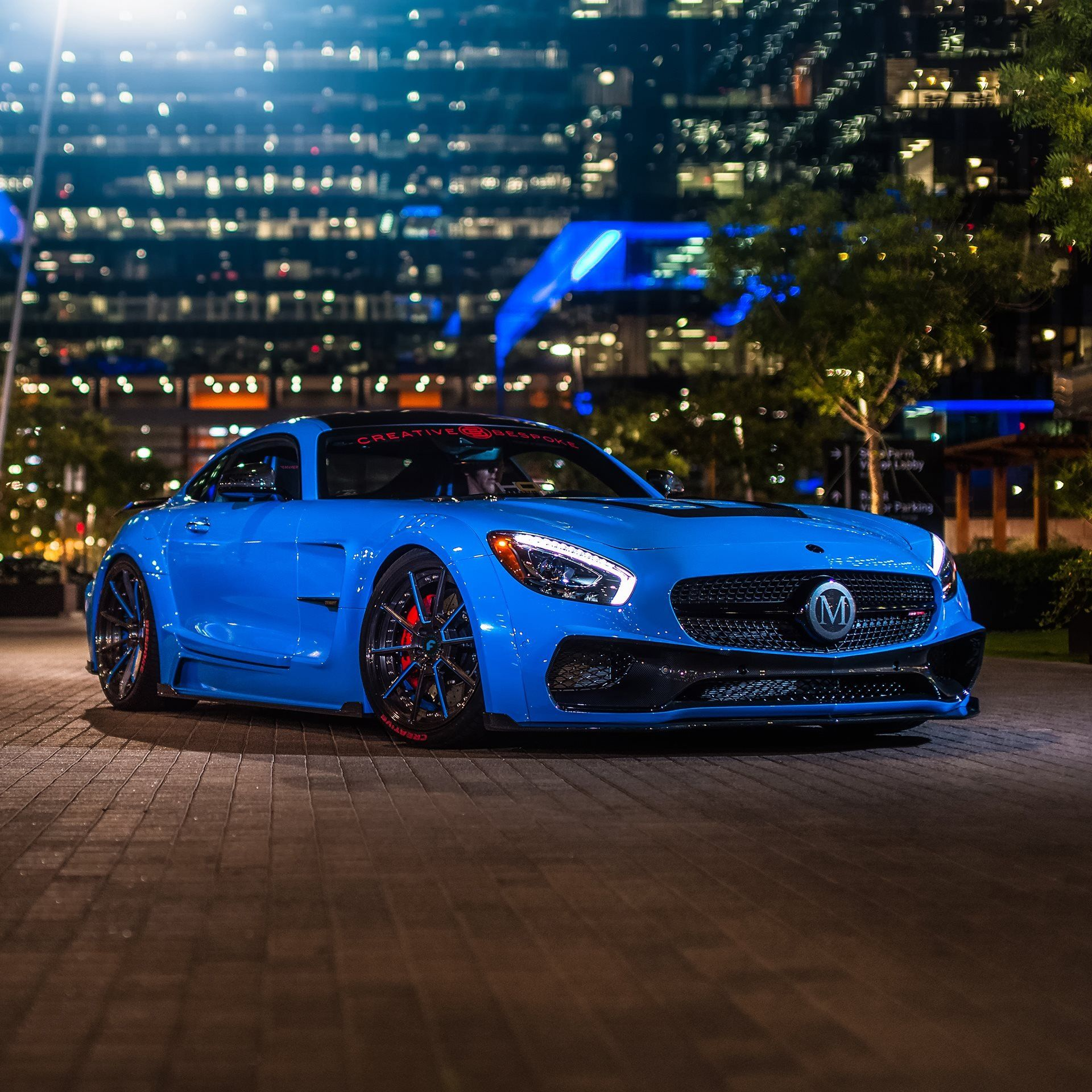 Mansory Does Its Magic For Electric Blue Mercedes Amg Gt Mercedes Amg Mercedes Benz Wallpaper Mercedes