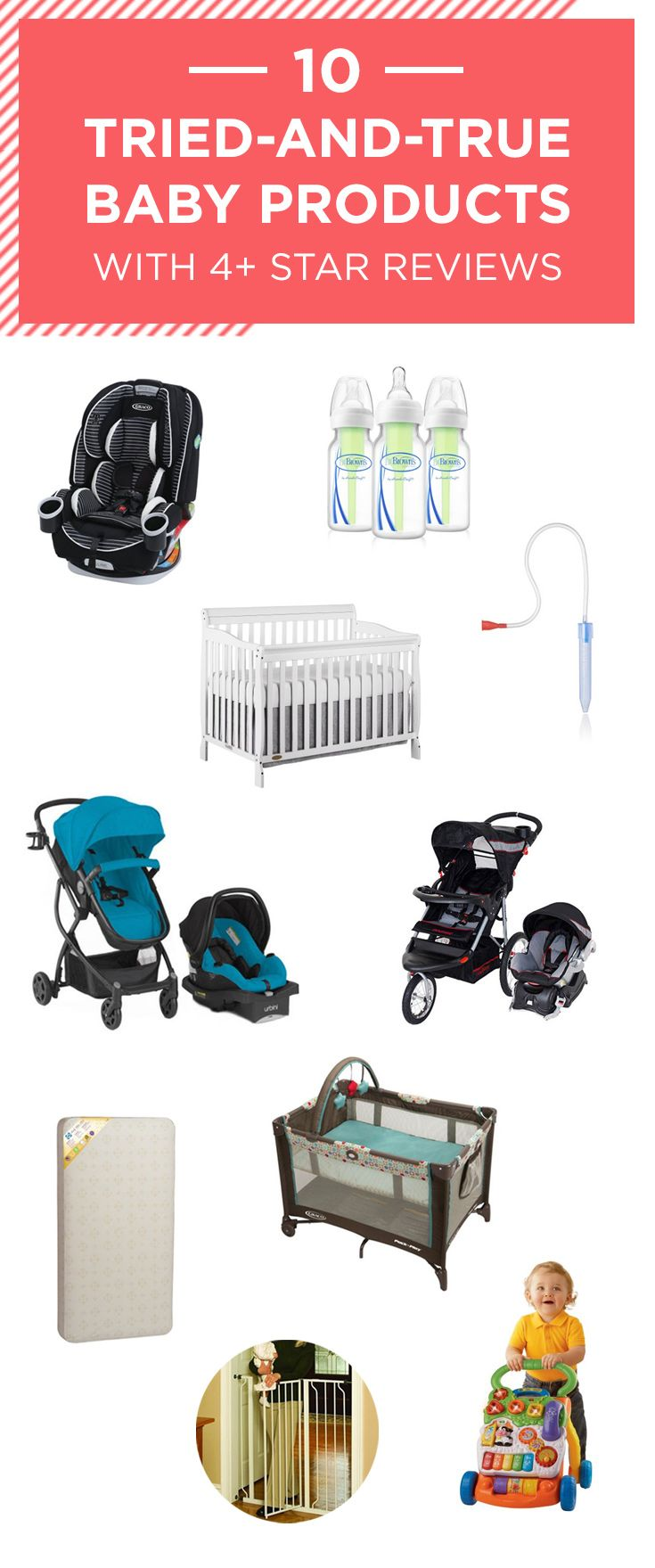 10 Great Baby Basics with Over 500 4-Star Reviews | Baby ...