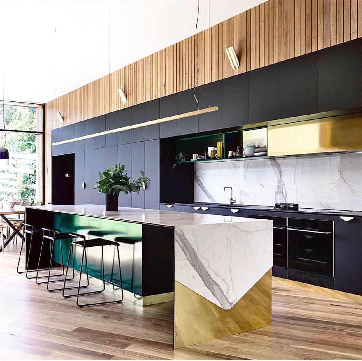 Pin di Jean Stoffer Design su Kitchens   Pinterest   Cucina moderna ...