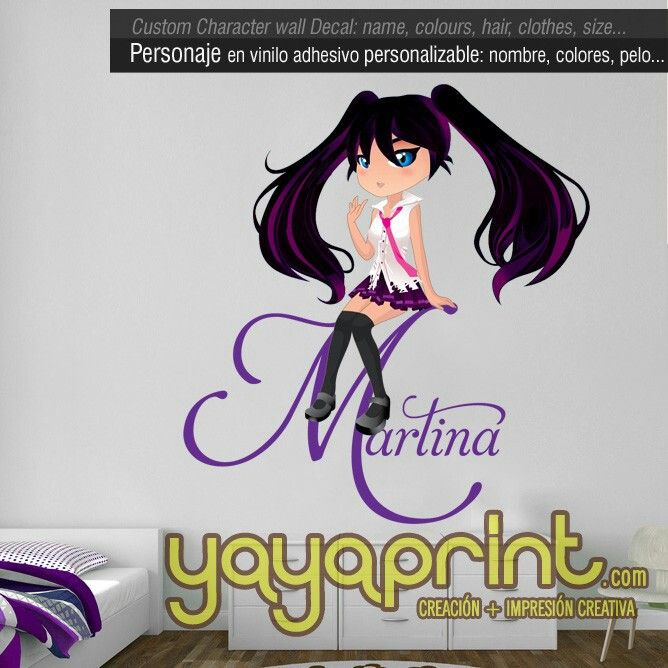 Crea tu avatar anime chicas personalizadas avatares anime chibi decoraci n para chicas tu - Crea tu habitacion ...
