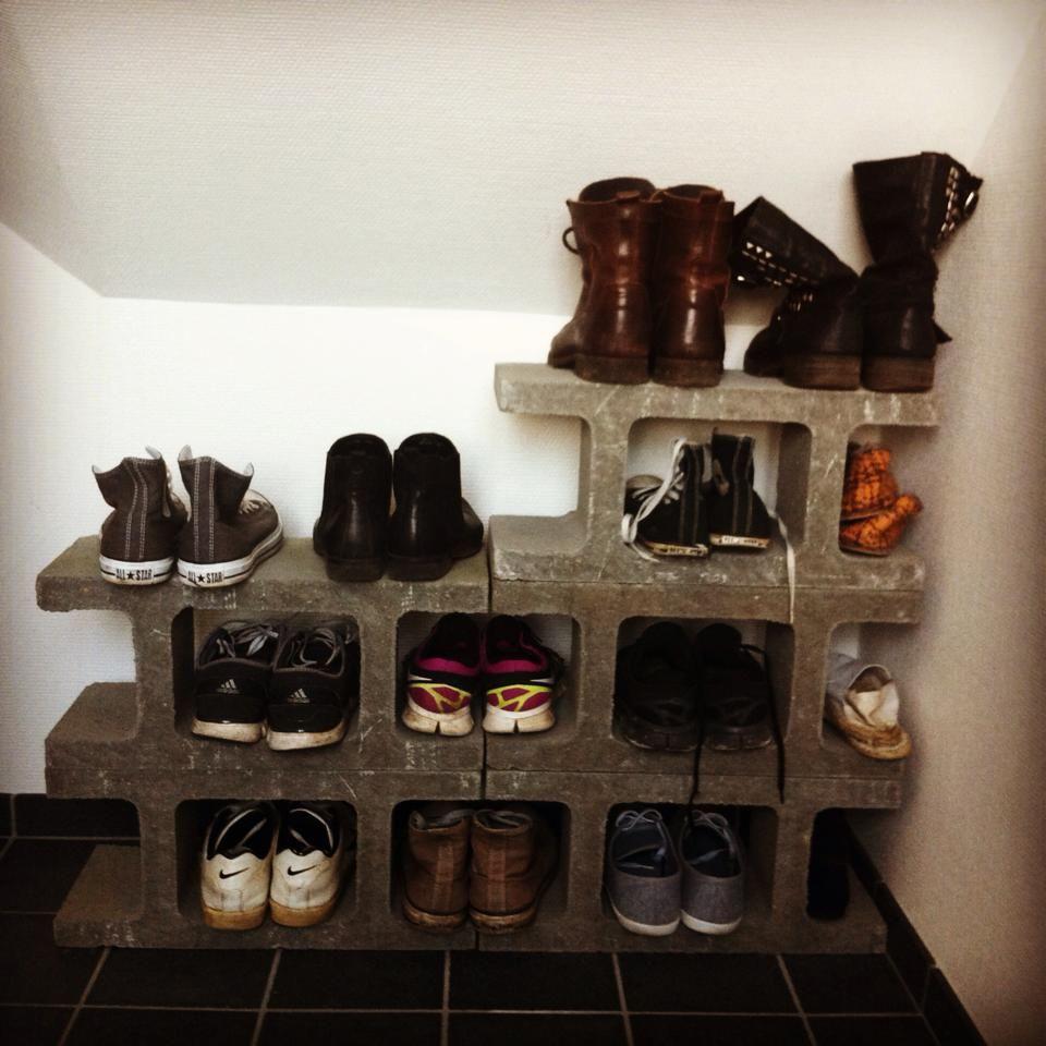 sko opbevaring bryggers pinterest opbevaring sko og boligindretning. Black Bedroom Furniture Sets. Home Design Ideas