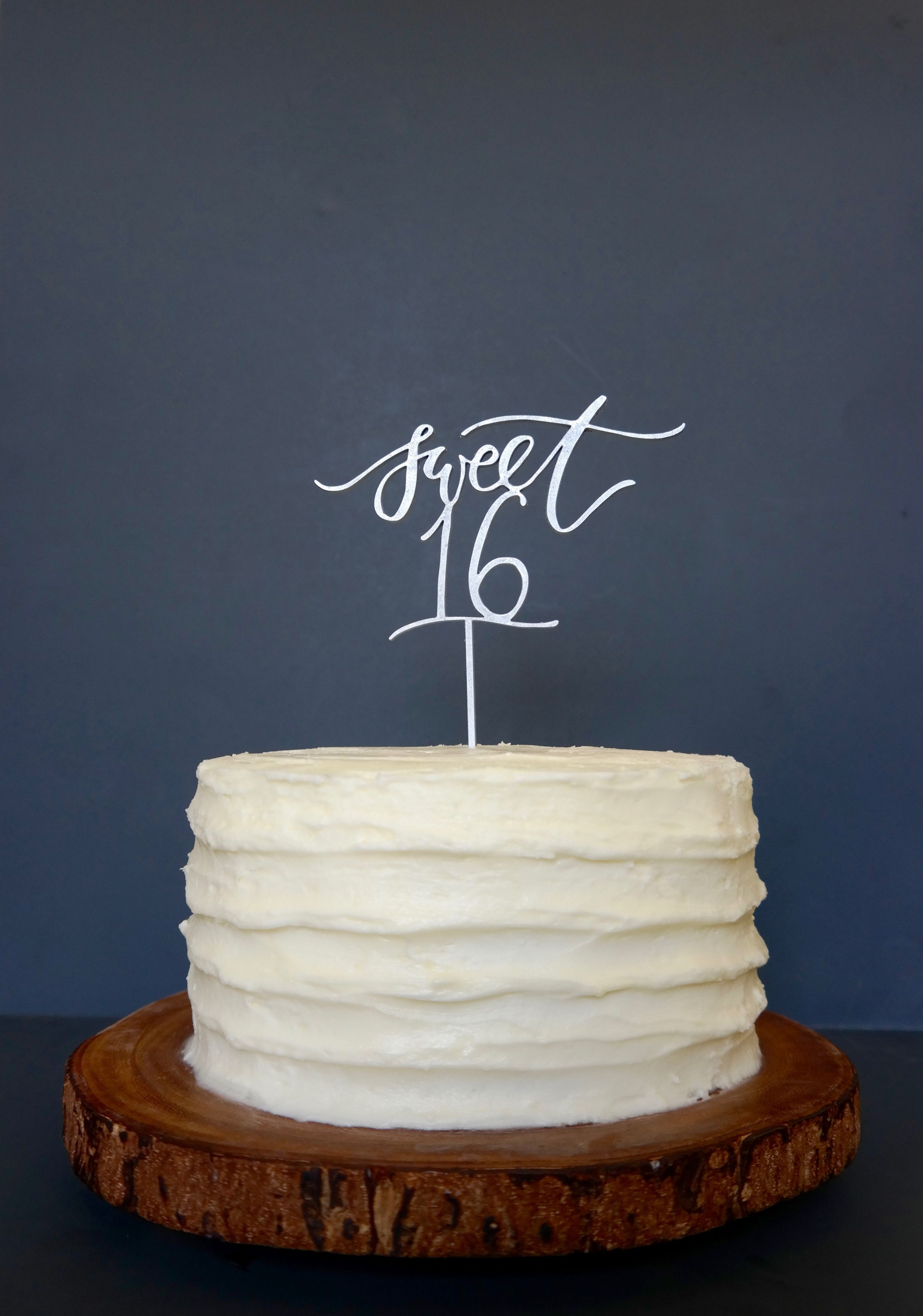 cab1c20b886c Sweet 16 Cake Topper in 2019