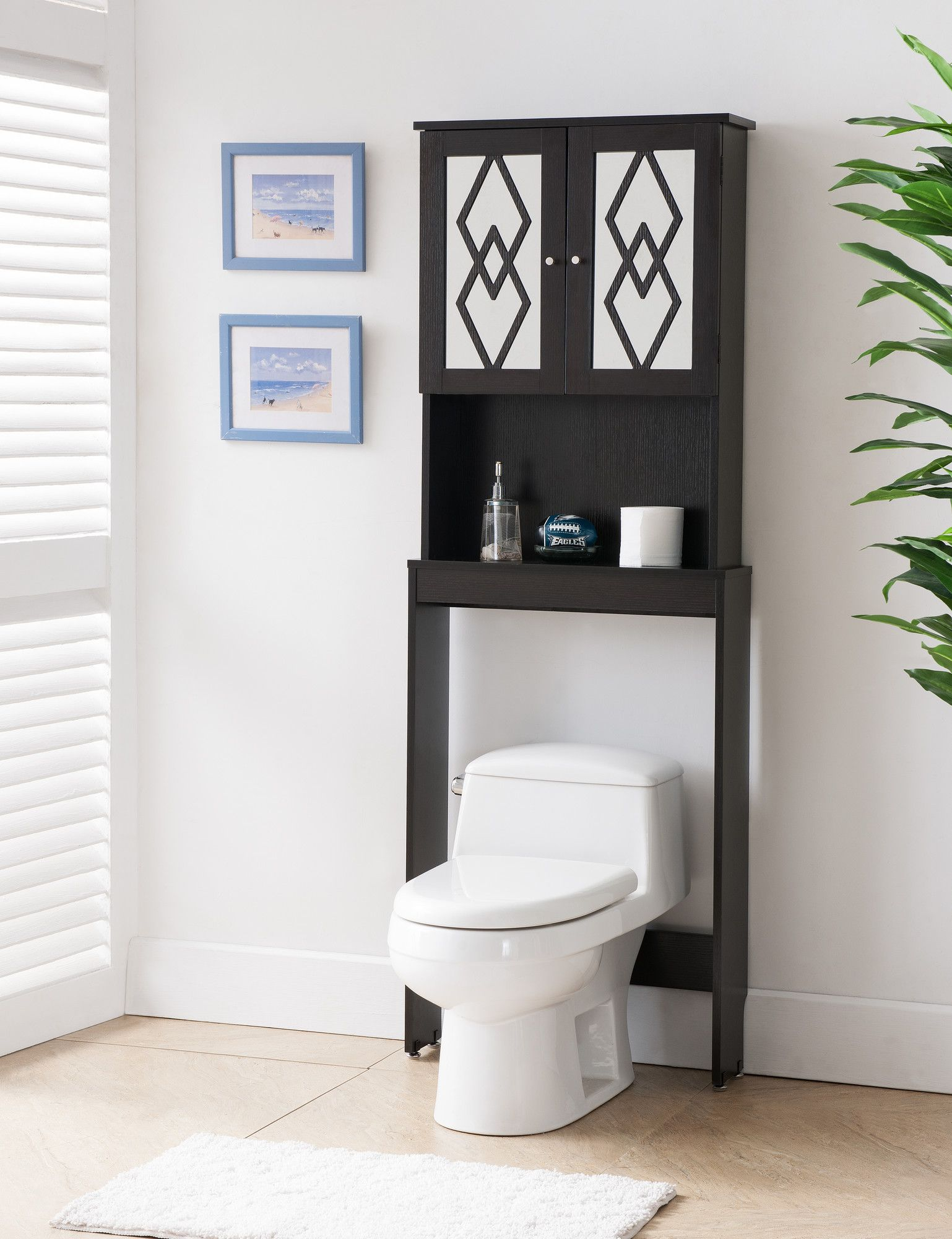 Mikaela Over-Toilet Cabinet | organize | Pinterest | Bathroom ...