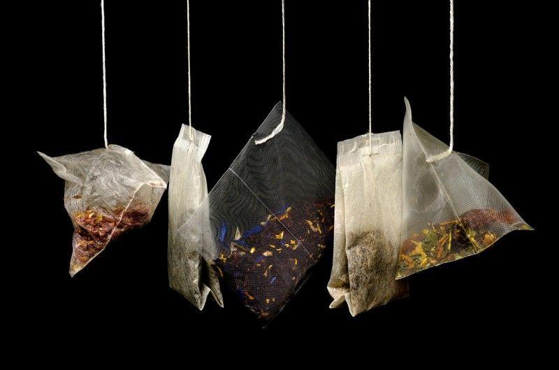 Riciclo mobili ~ Riciclare bustine tè: bellezza e pulizia casa bustine del thè per