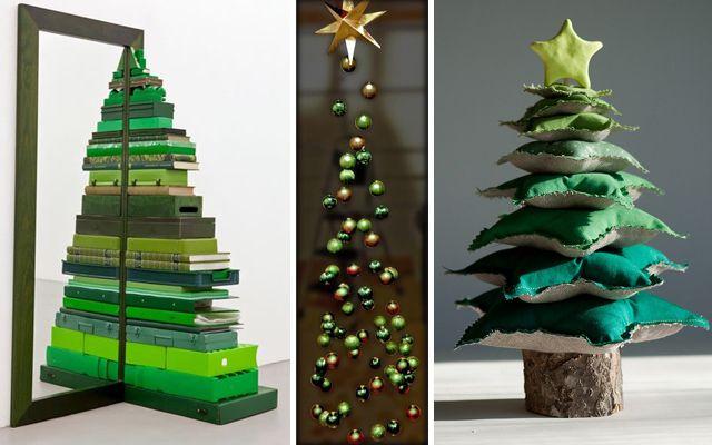 ideas para decorar la navidad rboles de navidad modernos