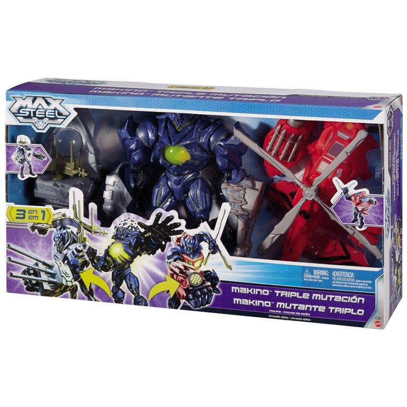 Max steel Makino triple mutation toy | Max Steel | Pinterest | Max ...