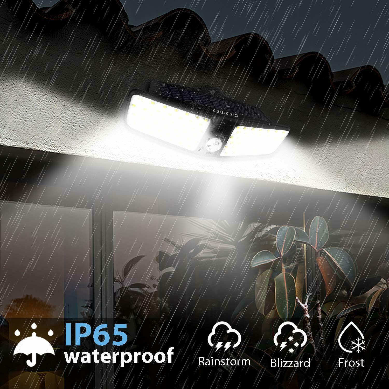 Outdoor Solar Power Motion Sensor Lights Garden Flood 80