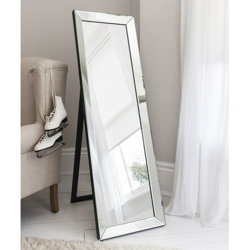 Trinity Tall Free Standing Dressing Mirror | Aflair Mirrors ...