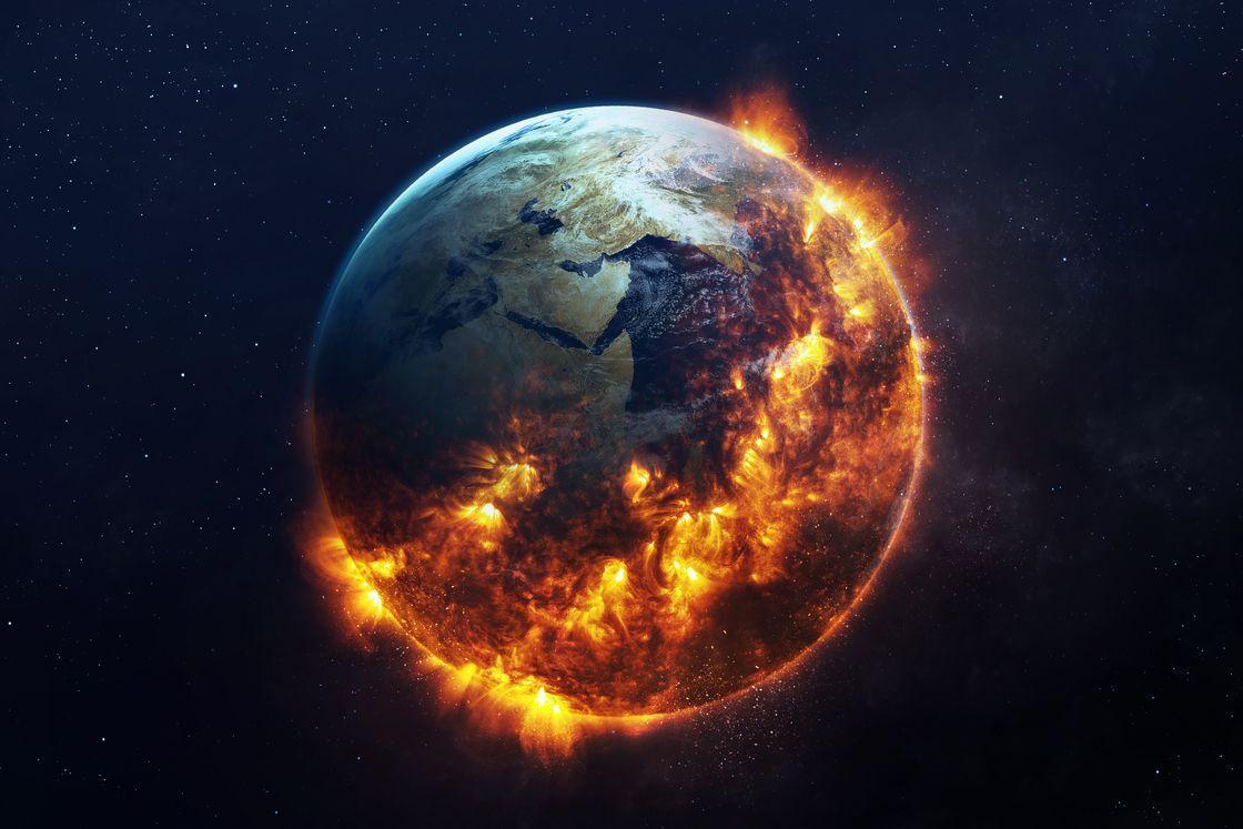 Burning Earth. | Earth tattoo, Watch the world burn, Earth