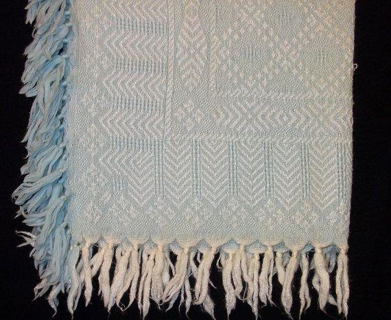 Vintage Baby Blanket Crib Blanket
