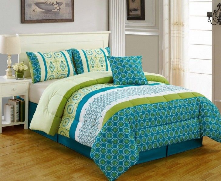 Comforter Sets Turquoise Bedding, Turquoise And Lime Green Bedding