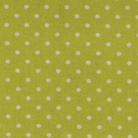 Linen Mochi Dot - Chartreuse