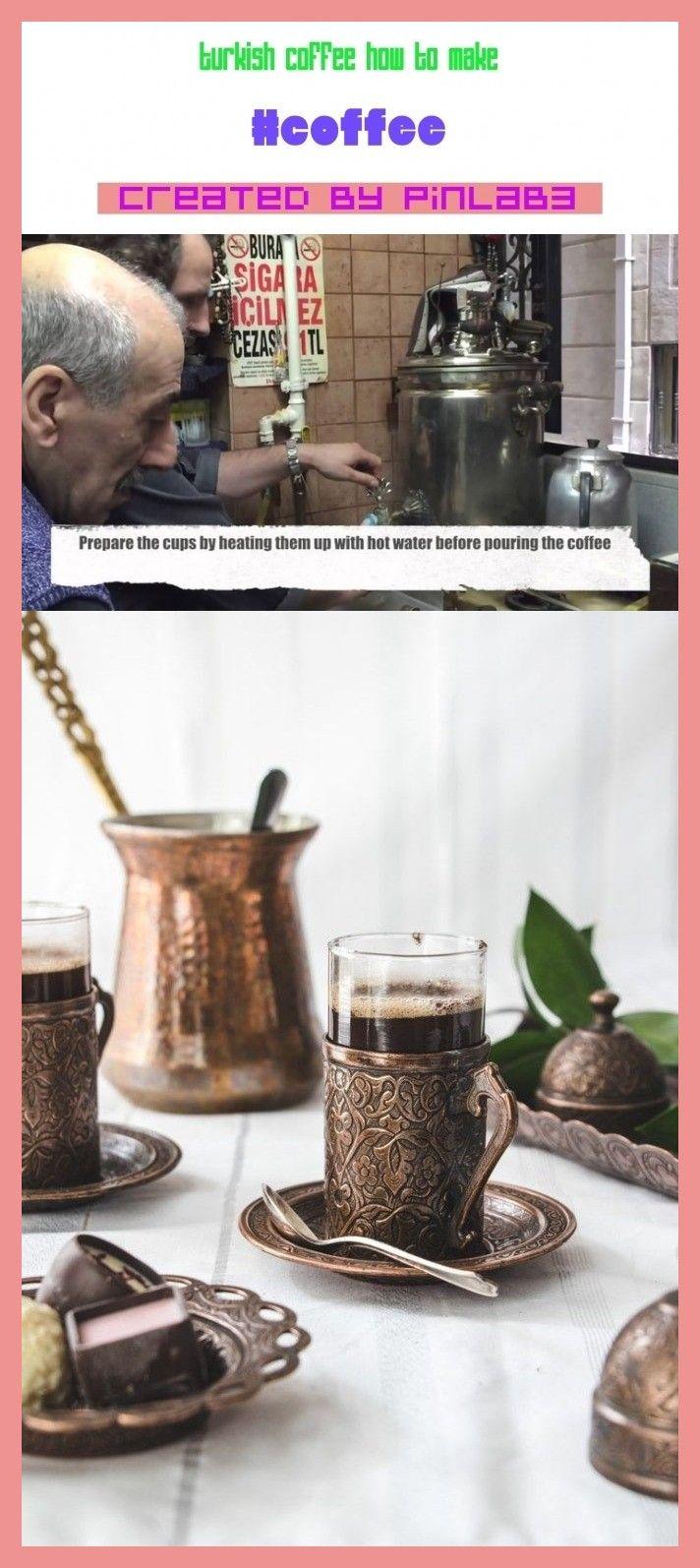 turkish coffee how to make in 2020 | Turkish coffee ...