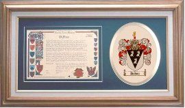 $109.99 Halsey Family Name History and Coat of Arms / Family Crest