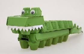 Image result for junk modelling jungle animals