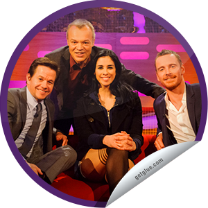 Steffie Doll's The Graham Norton Show: Mark Wahlberg, Sarah Silverman .  I think Mark got drunk and Graham isn't going to forgive him  lol