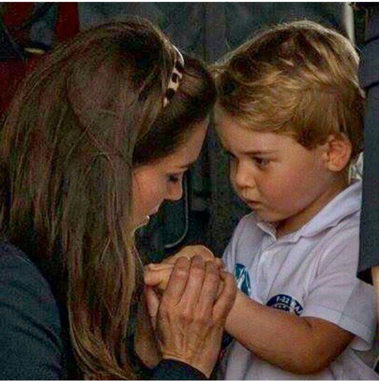 Mother And Son Prince William And Catherine Prince William And Kate Duchess Catherine