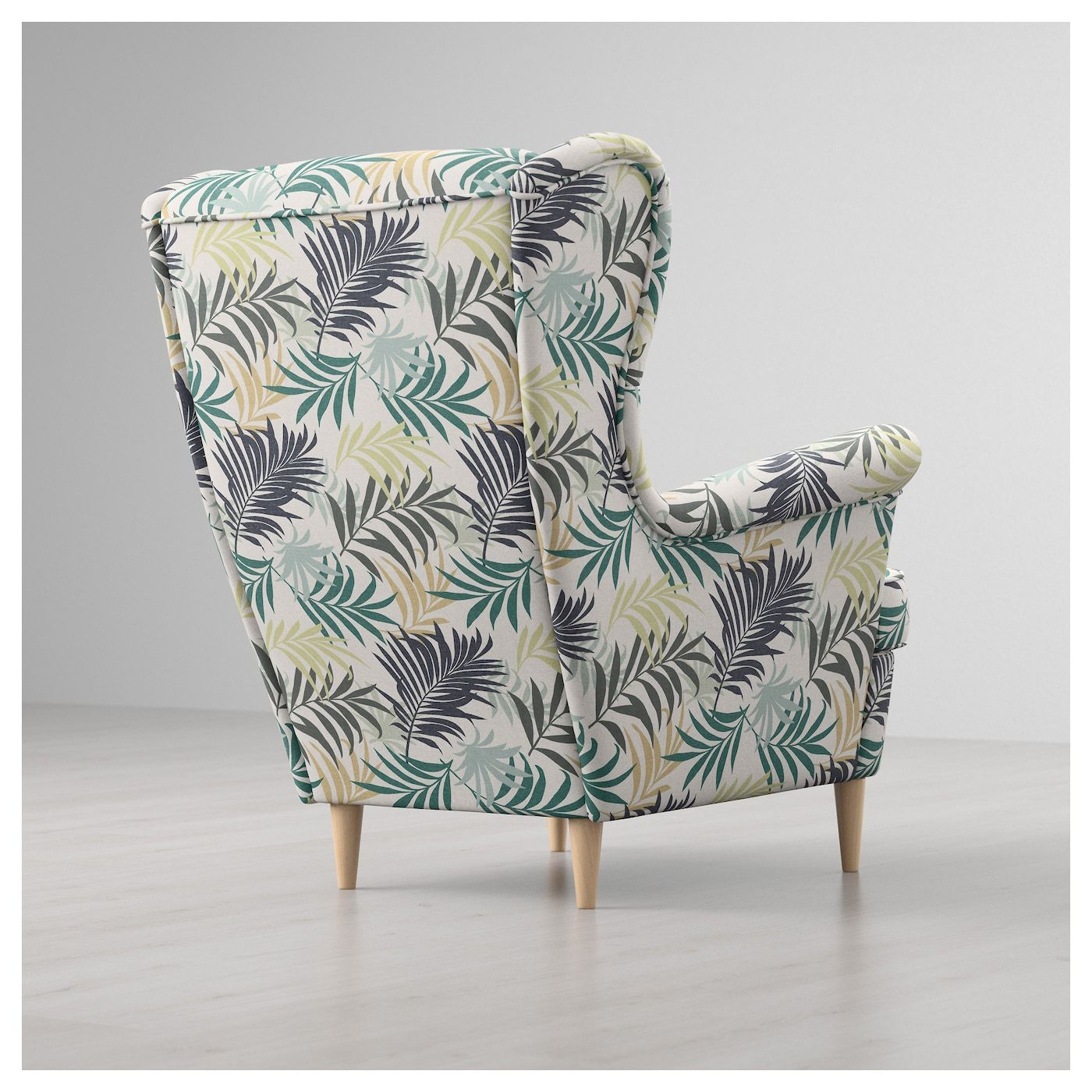 STRANDMON Wing chair Gillhov multicolor in 2020 Ikea