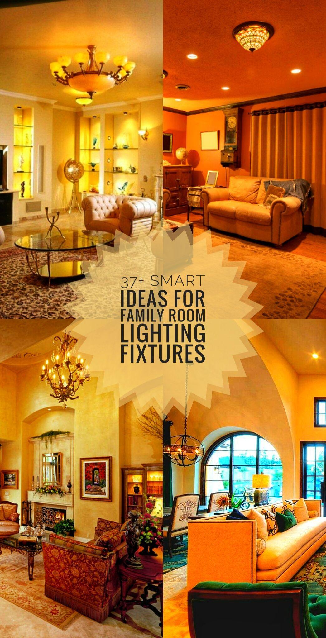 37 smart ideas for family room lighting fixtures familyroomlighting