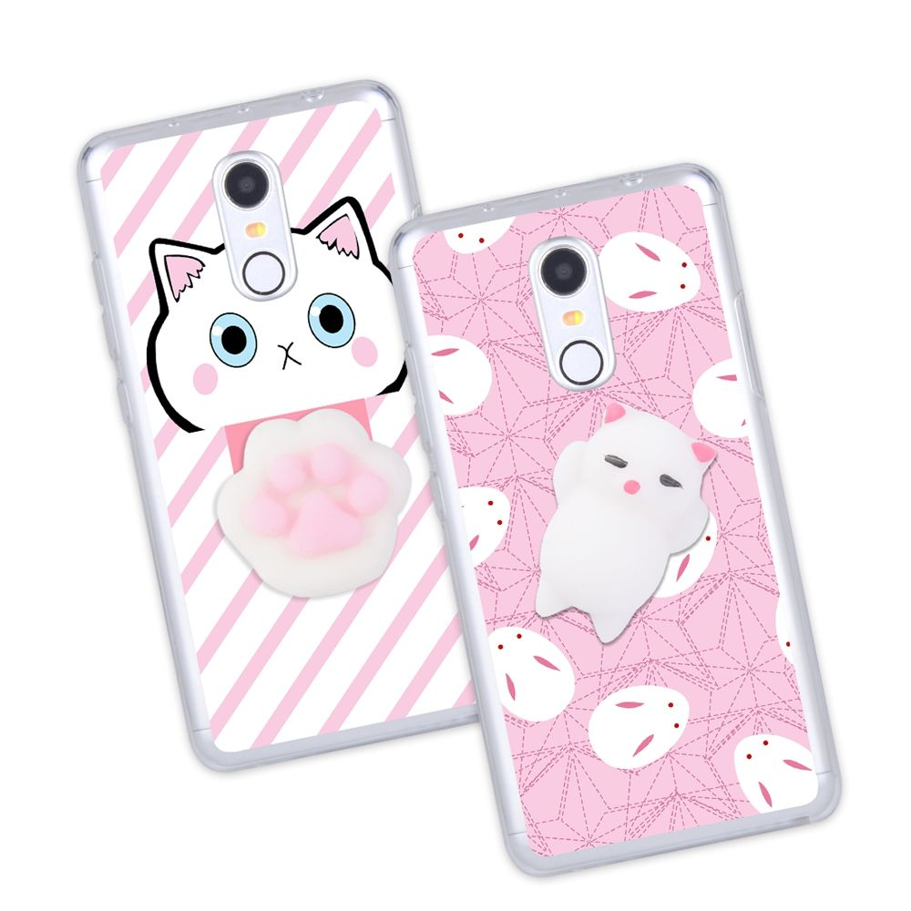 b0fd54df580 Squishy 3D Cat Phone Case For Xiaomi Redmi 3 3s 4 Pro Prime 4a 4x Note 3 SE  Case Anti-stress Claw Kitty Gel Soft Silicone Cover   Price   9.95   FREE  ...