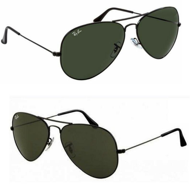409a7245e Oculos Ray Ban Aviador Masculino/feminino Tam. ( M ) 50%off | oculos ...