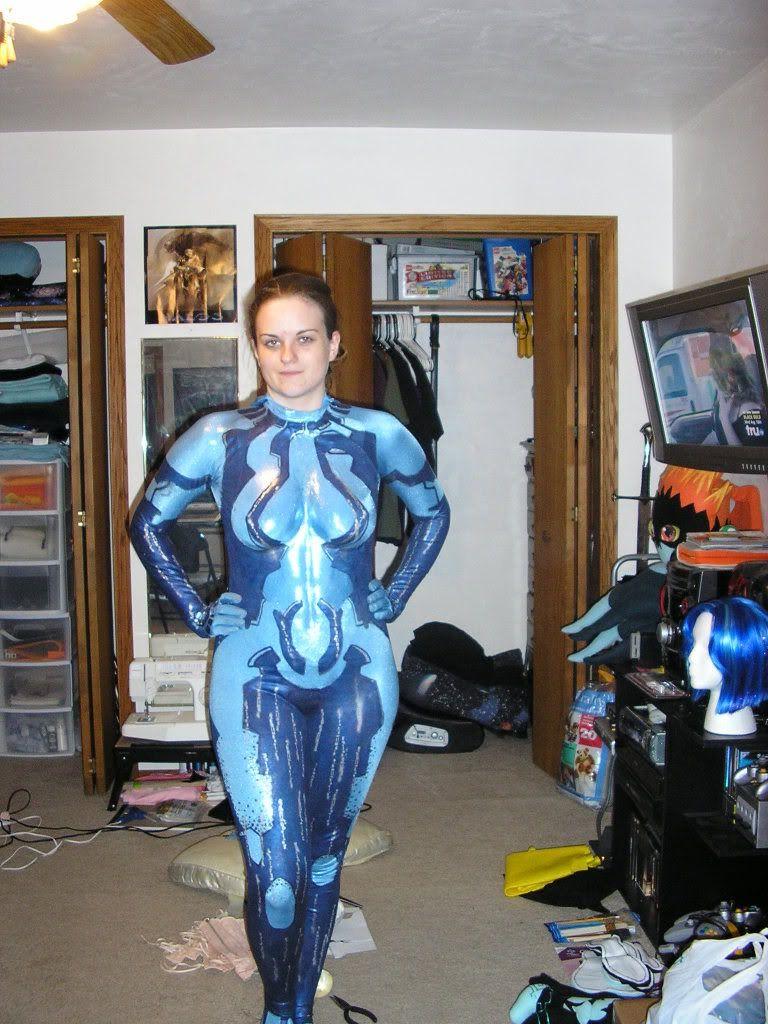 wip halo 3 cortana cosplay page 4 - Halo Reach Halloween Costume